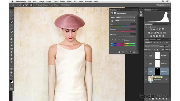 Incrementally improving the color: Photoshop for Photographers: Color Emphasis