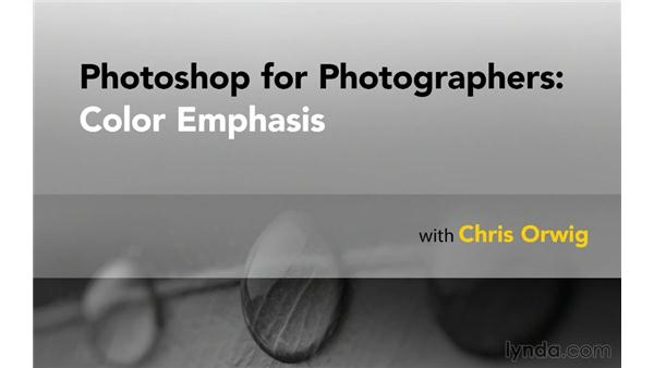 Next steps: Photoshop for Photographers: Color Emphasis