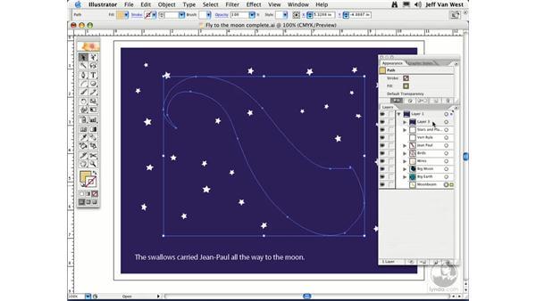 Organizing Layers: Illustrator CS2 Essential Training