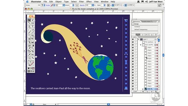 Merging and Flattening: Illustrator CS2 Essential Training