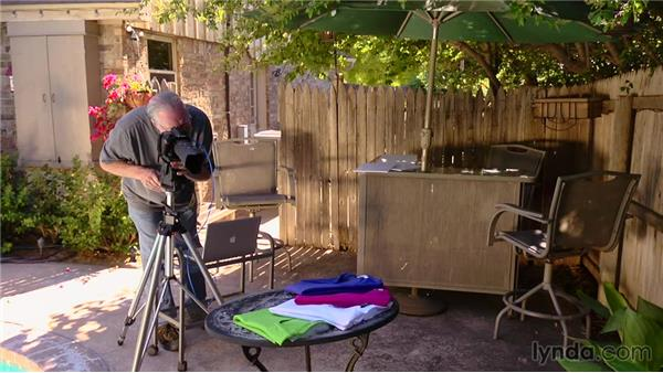 Lighting and shooting the fan of shirts: Product Photography for Clothes and Textiles