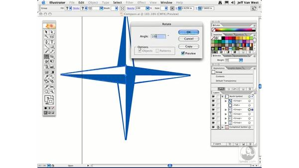 Rotating and Scaling: Illustrator CS2 Essential Training