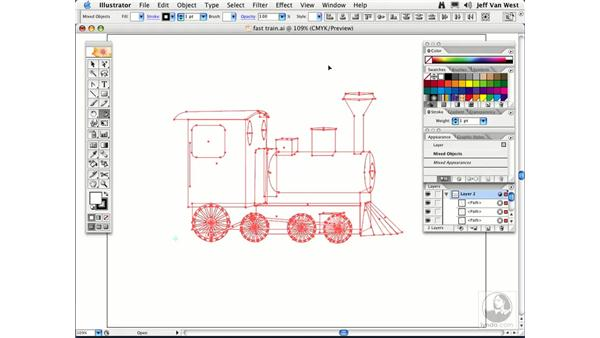 Shearing: Illustrator CS2 Essential Training