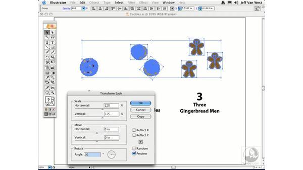 Transforming Each: Illustrator CS2 Essential Training