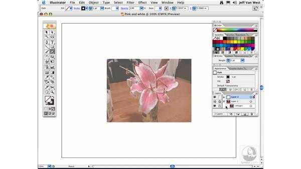 Template Layers: Illustrator CS2 Essential Training