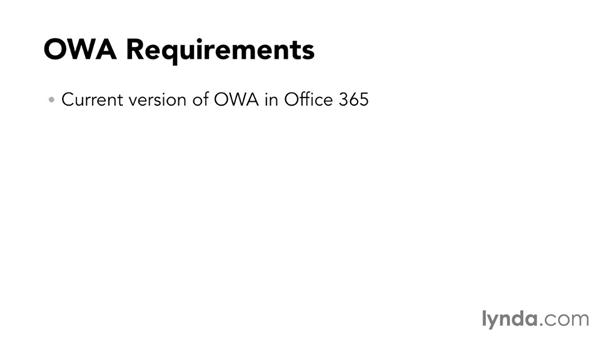 OWA for iOS overview: Outlook Web App (OWA) 2013 Essential Training