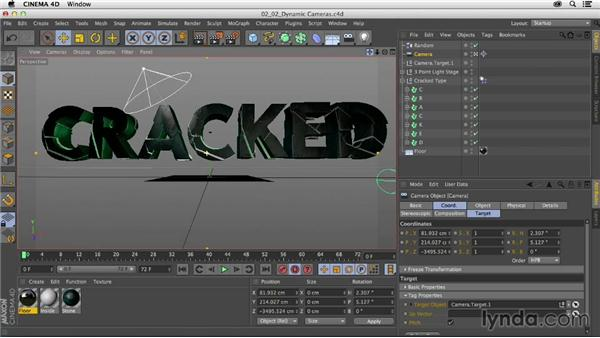 Creating the dynamic camera move: Mograph Techniques: Fractured 3D Type