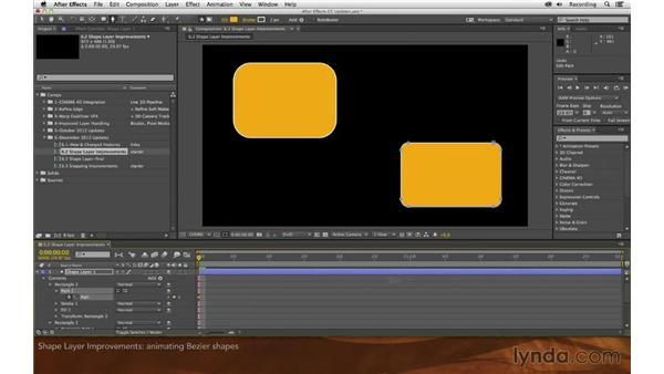 Shape layer improvements: After Effects: Creative Cloud Updates