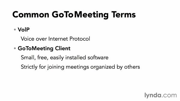 Welcome: Up and Running with GoToMeeting
