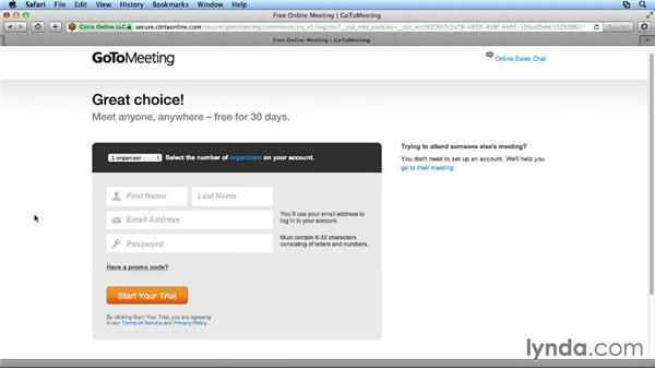 Installing GoToMeeting: Up and Running with GoToMeeting