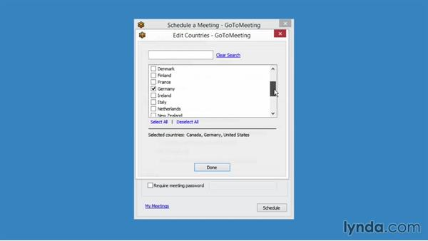 Scheduling international meetings: Up and Running with GoToMeeting