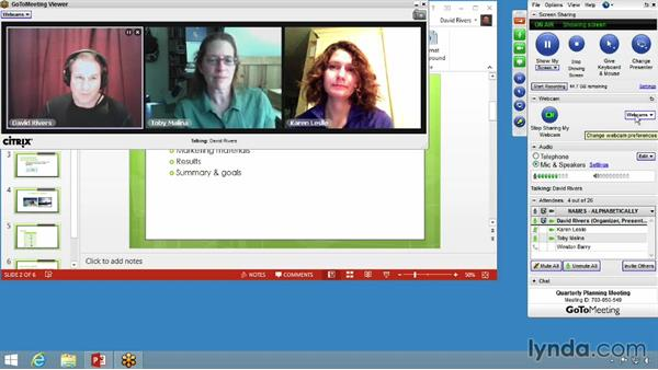 Enabling HDFaces video conferencing: Up and Running with GoToMeeting