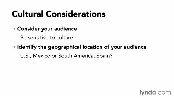 Before you begin: Cultural and design considerations: Adapting an English Layout into Spanish with InDesign