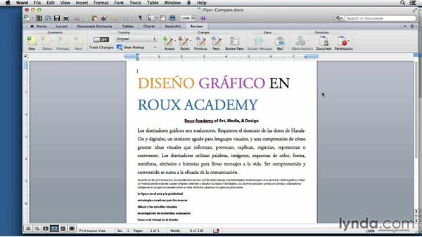 The importance of translation: Adapting an English Layout into Spanish with InDesign