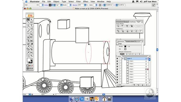 Shape Modes: Illustrator CS2 Essential Training
