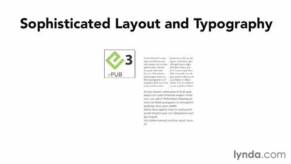 Choosing between EPUB 2 and EPUB 3: InDesign CC: EPUB Fundamentals