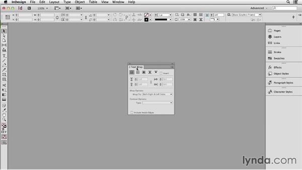 Creating an EPUB workspace: InDesign CC: EPUB Fundamentals