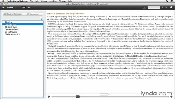 Working with InDesign book files: InDesign CC: EPUB Fundamentals