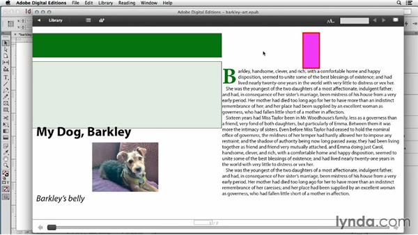 Converting InDesign objects to images: InDesign CC: EPUB Fundamentals