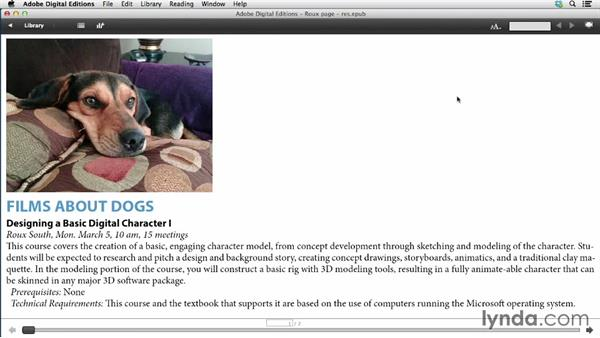 Specifying image resolution and appearance: InDesign CC: EPUB Fundamentals