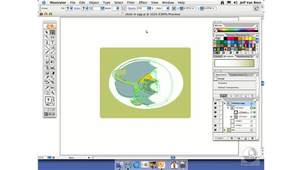 Clipping Masks: Illustrator CS2 Essential Training