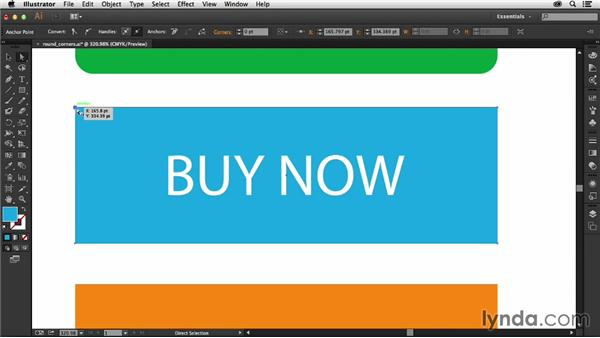 Using the Live Corners feature: Illustrator: 2013 Creative Cloud Updates