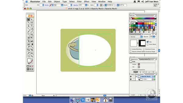 Opacity Masks: Illustrator CS2 Essential Training