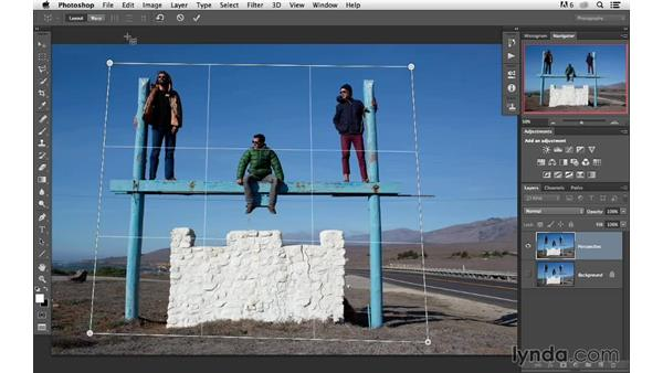 Making automatic corrections with Perspective Warp: Photoshop for Photographers: 2013 Creative Cloud Updates