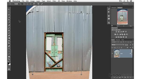 Using Perspective Warp as a Smart Object: Photoshop for Photographers: 2013 Creative Cloud Updates