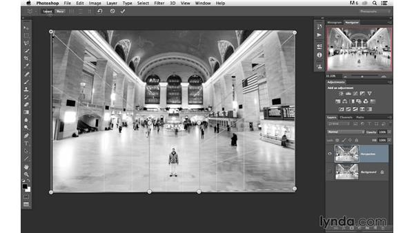 Making dramatic changes with Perspective Warp: Photoshop for Photographers: 2013 Creative Cloud Updates