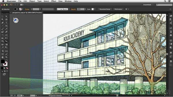 Working with Perspective Grids: Illustrator: 2013 Creative Cloud Updates