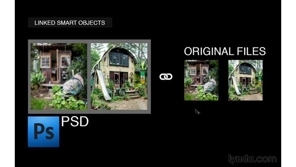 Linking external files as linked Smart Objects: Photoshop for Photographers: 2013 Creative Cloud Updates