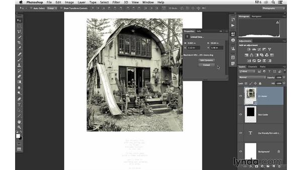 Replacing or swapping out linked files: Photoshop for Photographers: 2013 Creative Cloud Updates