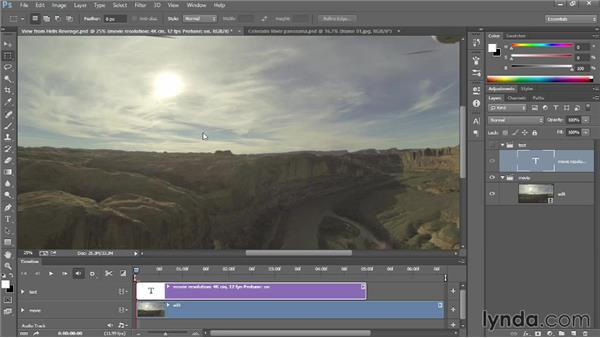 Stitching together an aerial panorama: Photoshop: 2013 Creative Cloud Updates