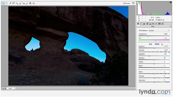 Developing an HDR shot in Camera Raw: Photoshop: 2013 Creative Cloud Updates