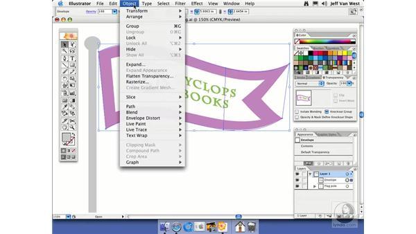 Warp Distortion: Illustrator CS2 Essential Training