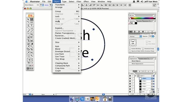 Envelope Trick: Illustrator CS2 Essential Training