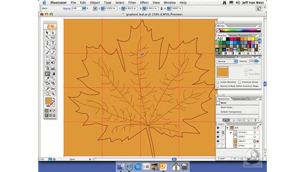 Gradient Mesh: Illustrator CS2 Essential Training