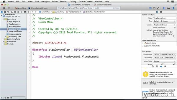 Try it: What's for lunch?: Teach Kids Programming with iOS