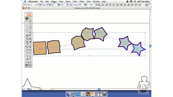 Blends: Illustrator CS2 Essential Training