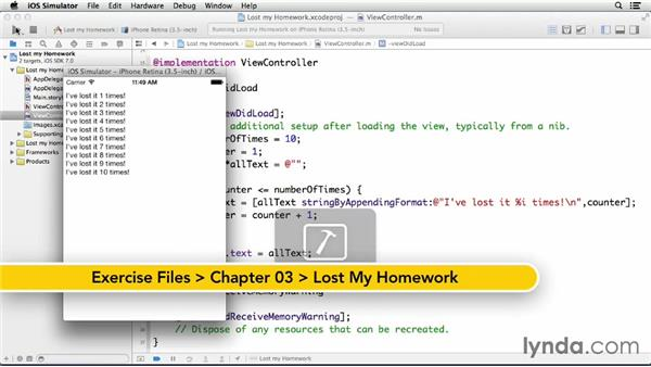 Try it: Lost my homework!: Teach Kids Programming with iOS