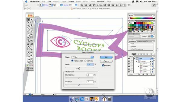 Illustrator Effects: Illustrator CS2 Essential Training