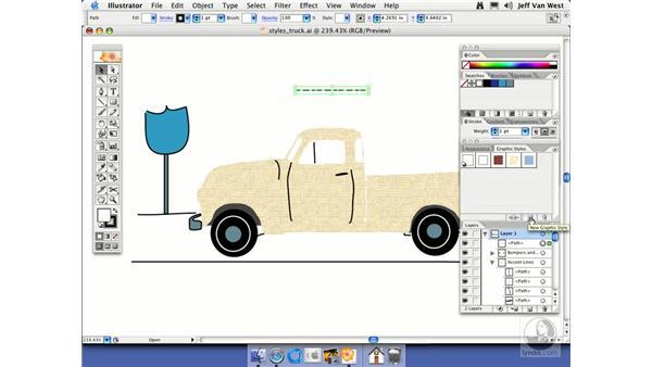 Creating Graphic Styles: Illustrator CS2 Essential Training