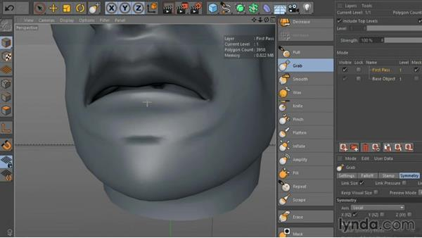 Welcome: Sculpting  and Painting a Head in CINEMA 4D