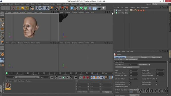 What you should know before watching this course: Sculpting  and Painting a Head in CINEMA 4D