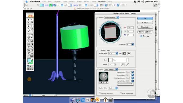 Light and Shading: Illustrator CS2 Essential Training