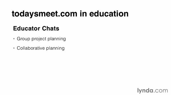Exploring educational uses of todaysmeet.com: Teacher Tips
