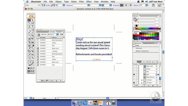 Dynamic Visibility: Illustrator CS2 Essential Training