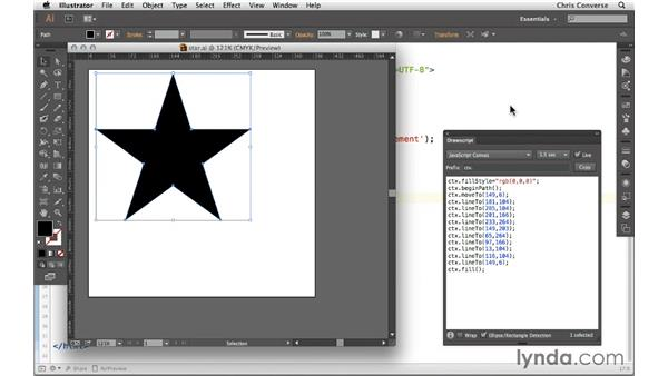 Working with HTML5 Canvas code from Illustrator: Design the Web: From Illustrator to HTML5 Canvas