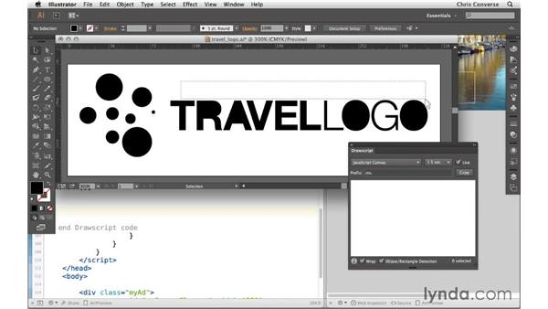 Reconstructing a logo with HTML5 Canvas: Design the Web: From Illustrator to HTML5 Canvas